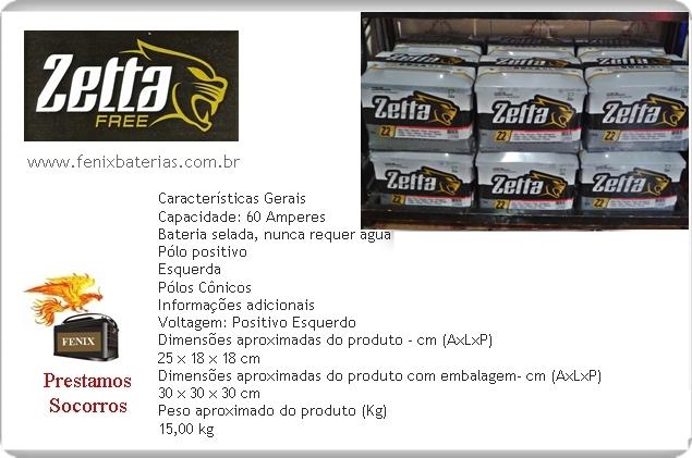 Fênix Baterias Zetta