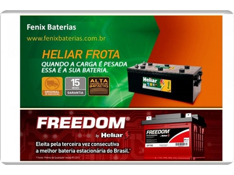 Fênix Baterias Heliar Frota e Freedom